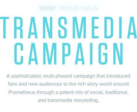 Prometheus: Transmedia Campaign on Behance