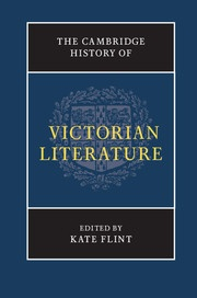The Cambridge History of Victorian Literature; Edited by Kate Flint, University of Southern California