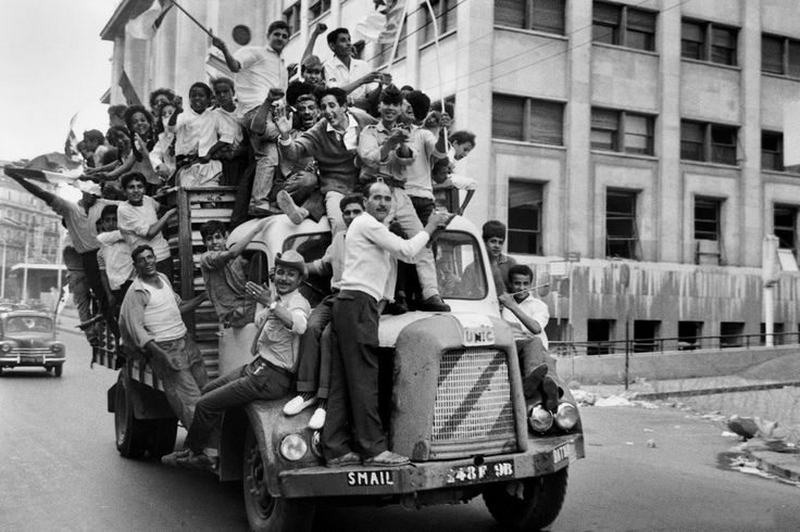Marc Riboud - Independence. July 1962.