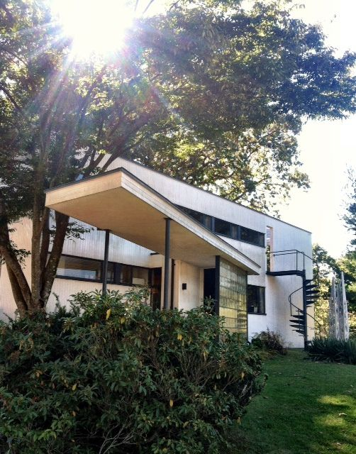 Walter Gropius House, 1937, Lincoln, MA