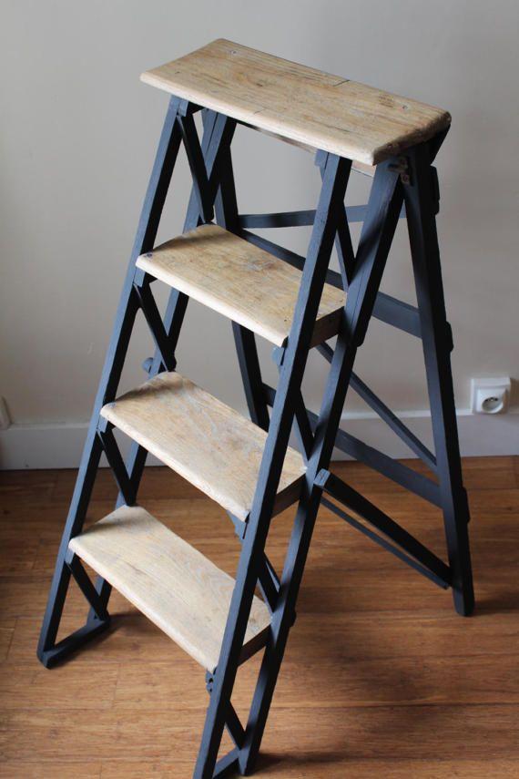 oltre 25 fantastiche idee su escabeau bois su pinterest escabeau scale di legno e echelle. Black Bedroom Furniture Sets. Home Design Ideas