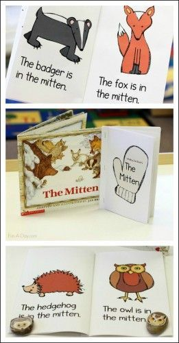 The Mitten Printable Emergent Reader - free printable
