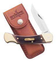 TAYLOR BRANDS LLC Old Timer Cave Bear w/Sheath Knife, EA