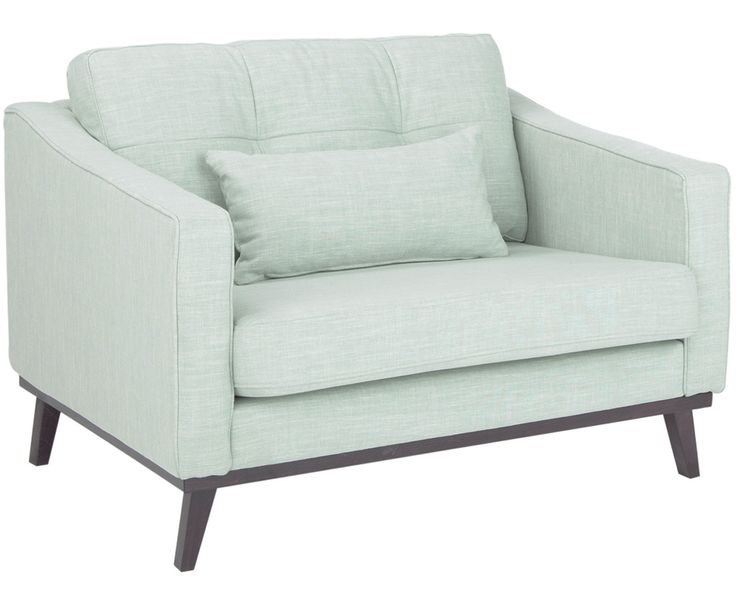 Klare Konturen Und Moderner Look Für Ihr Zuhause. Der Sessel ALMANA In  Zartem Aqua Sorgt