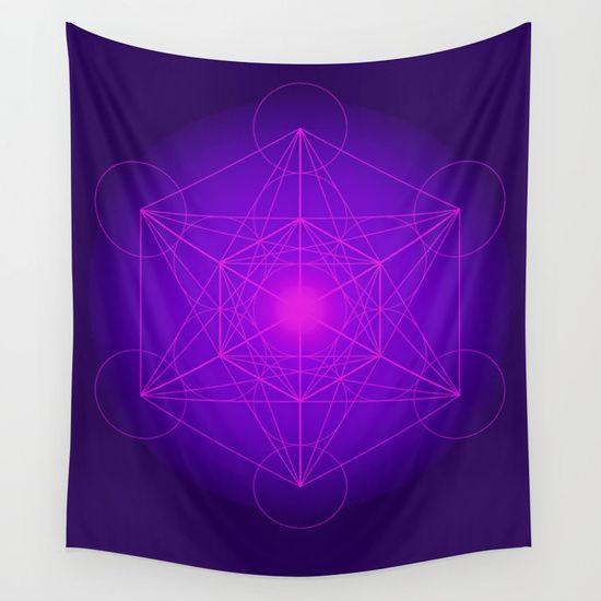 15% Off+Free Shipping on Tapestries Today #meditation #bohostyle #bohosoul #yoga #planets #reiki #popart #wall #art https://society6.com/product/metatron--cube--secret-geometry--platonic--matrix--protects-children-ja3_tapestry