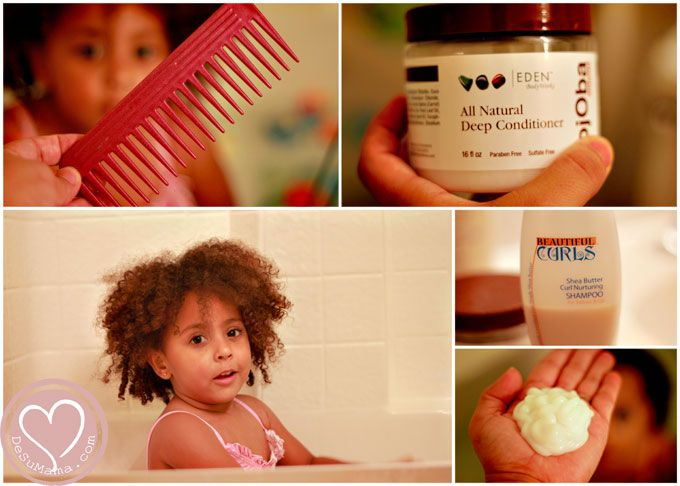 Mixed Hair Care: Tips for Toddler's Ringlet Curls - lots of great tips on conditioning & defining curls & washing routine