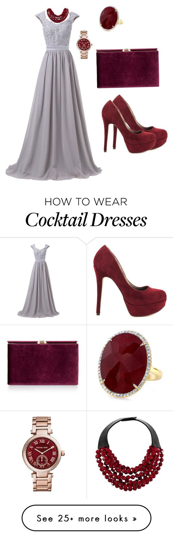 """Untitled #18"" by dolialotaibi on Polyvore featuring Michael Antonio, Monsoon, Fairchild Baldwin and Michael Kors"