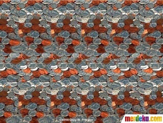 Gambar Pemandangan 3 Dimensi Yang Mudah Digambar Foto Coba Temukan Objek 3d Yang Tersembunyi Di Gambar Gambar 2d Lukisan Dinding 3d Di 2020 Pemandangan Gambar Ilusi