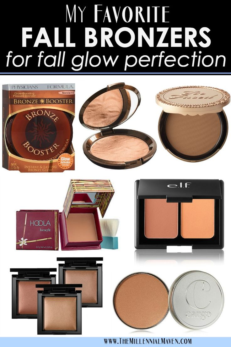 My Favorite Bronzers for Fall Glow Perfection! (Best Fall Bronzers)