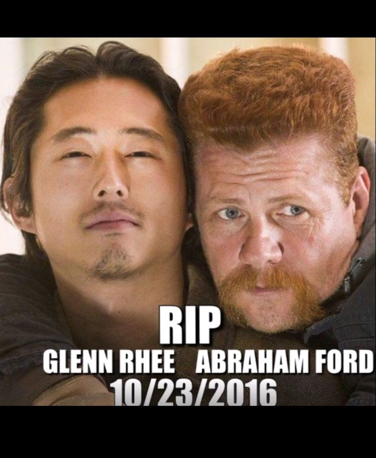 Glenn, my baby. TWD will never be the same