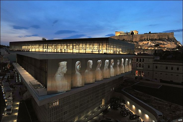 The Acropolis Museum. Athens,Greece.