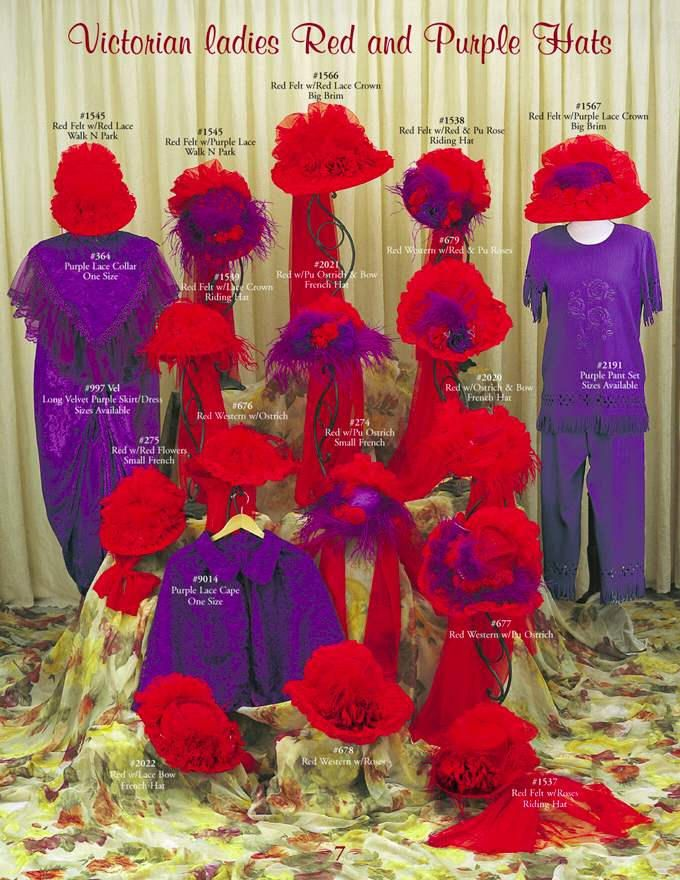 Victorian Hat,Red Hat Society Hats,Vintage Victorian Ladies Touring Hats,Riding and French Hats,Victorian Red & Purple Hats,NH,MA,ME,NY,CT,VT