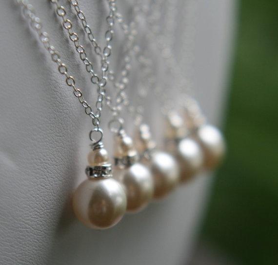 Bridesmaid Jewelry! Etsy! Wedding-ideas