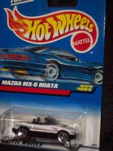 -#1084 Mazda MX-5 Miata Collectible Collector Car Mattel Hot Wheels