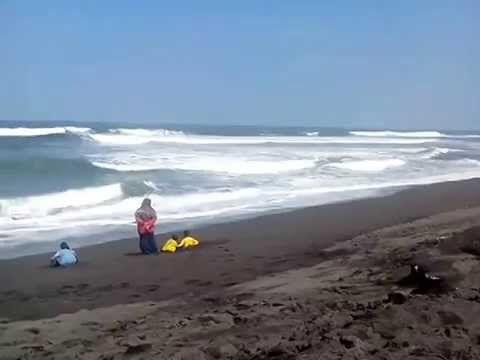 Pantai Kuwaru Keindahan Alam di Yogyakarta - Yogyakarta
