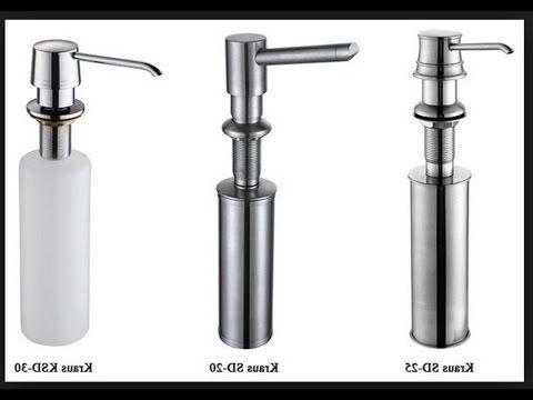 The Best! Kitchen Sink Soap Dispenser Ideas