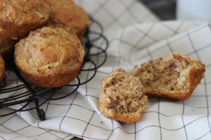 Save My Morning Spiced Apple Muffins (healthy!)
