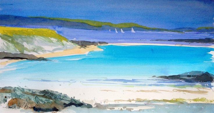 Warm Beach by Amanda Burton