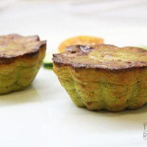 Vista previa del artículo Pasteles de calabacín y parmesano