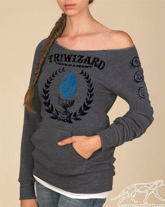 TriWizard Tournament Harry Potter Woman's Maniac by waycooltshirts, $42.00