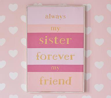 Sister Sentiment Art #pbkids