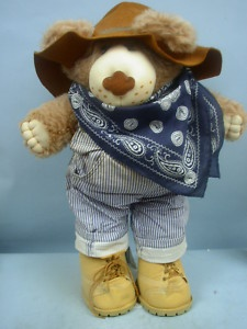 "21"" Dudley Furskins Bear - Xavier Roberts 1985 Original my son had some of these."