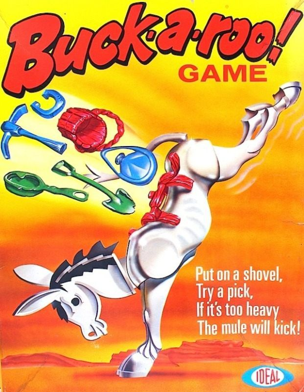 Buckaroo Game | Vintage Board Games & Classic Toys | Vintage Playtime