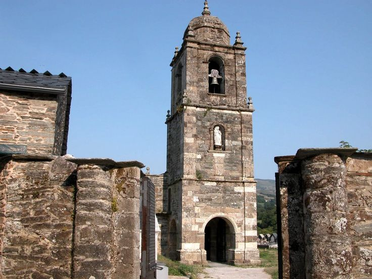 Iglesia de Santiago, Triacastela, Lugo, Camino de Santiago