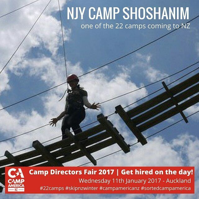 22 Camps are Coming to NZ to hire kiwis for Camp America. Get deets & book-> iwh.nz/CDFair  #skipnzwinter #campamericanz