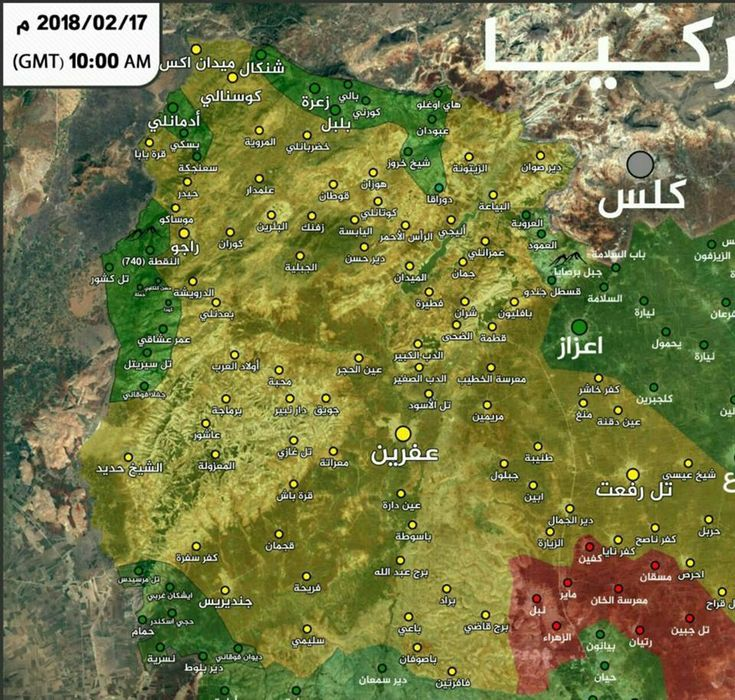 Cyprus Map Vector%0A Latest battle update from northern Aleppo map