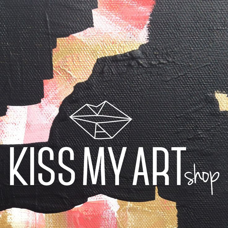 www.kissmyartshop.com Original acrylic painting