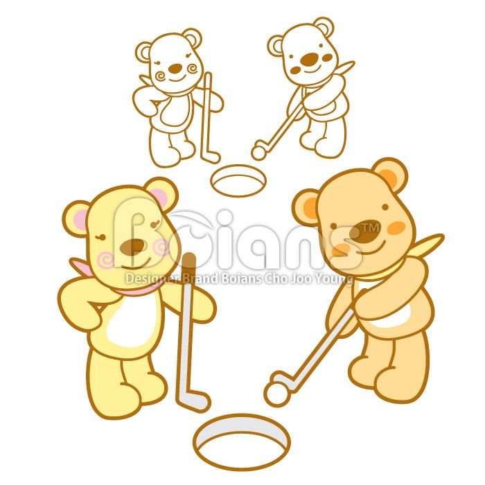 Boians Vector Bear Character is a golf gaming.	 #Boians #golf #game #event #sport #BearCharacter #BruinCharacter #UrsineCharacter #TeddyBearCharacter #TeddyCharacter #StuffedAnimalCharacter #Bear #Bruin #Ursine #TeddyBear #Teddy #StuffedAnimal #VectorCharacter #SellingCharacter #StockIllustration #Animal #Character #CharacterDesign #Cartoon #Illustration #Vector #Cartoon #Icon #ClipArt #Head #Breed #Fun #Tail #Pedigreed #Zodiac #Pretty #Cute #Sign #Graphic #lovable #lovely #sweet #Happy…