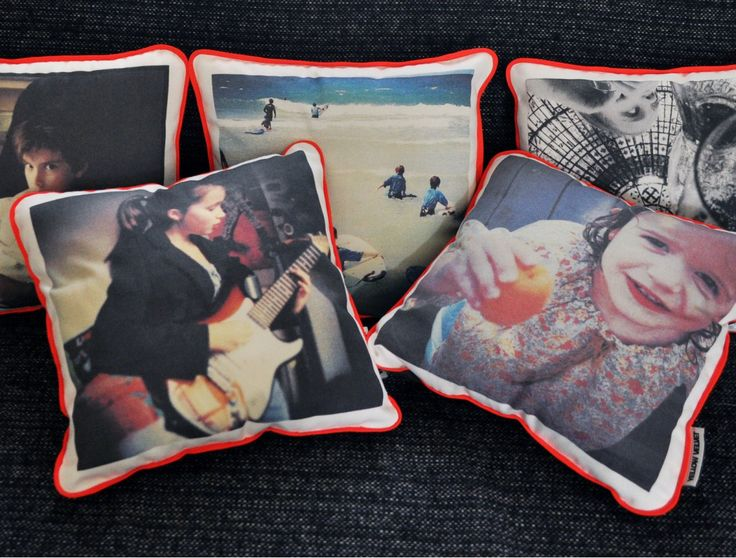 Create your own cushion with an Instragram photo by Yellow Velvet