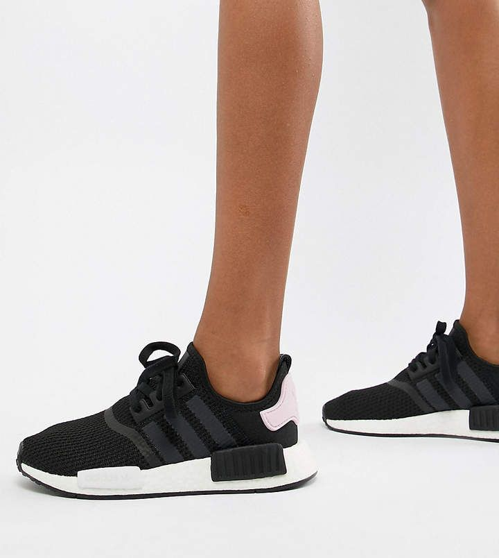 adidas Nmd R1 Sneakers In Black And Pink   Sneakers, Nmd adidas ...