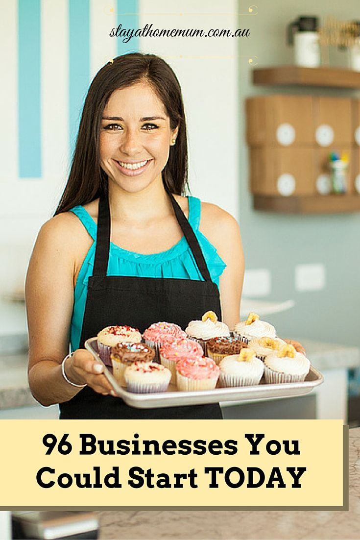 Want to create your own little business from home and need a bit of inspiration? Here are 96 business ideas you could start today.