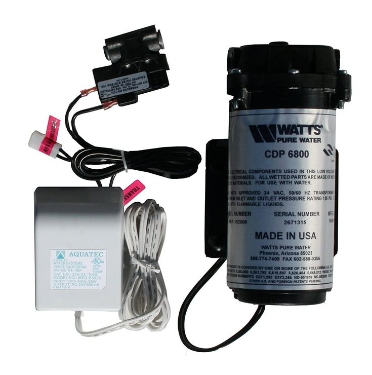 Water Filtration Booster Pump Kit