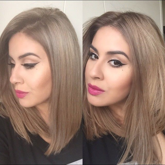 "OMG. Still can't get over this result she had Coloured ""BLACK HAIR"" and now she's a ""smokey ash blonde"" in one session?? with sooooo much patience ☺️❤️ #dreamhairwithme #wellalife #hudabeauty"
