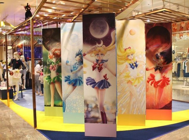 There's Now a Sailor Moon Clothing Boutique in Tokyo #ISETAN