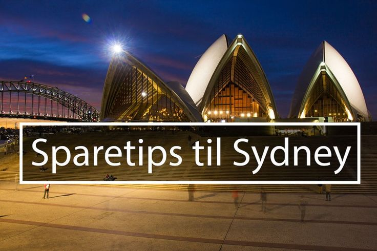 Sparetips til Sydney