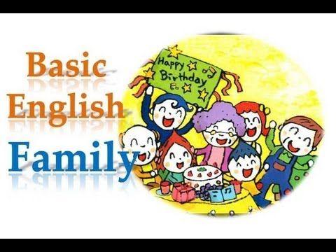 [Learn basic English] Family