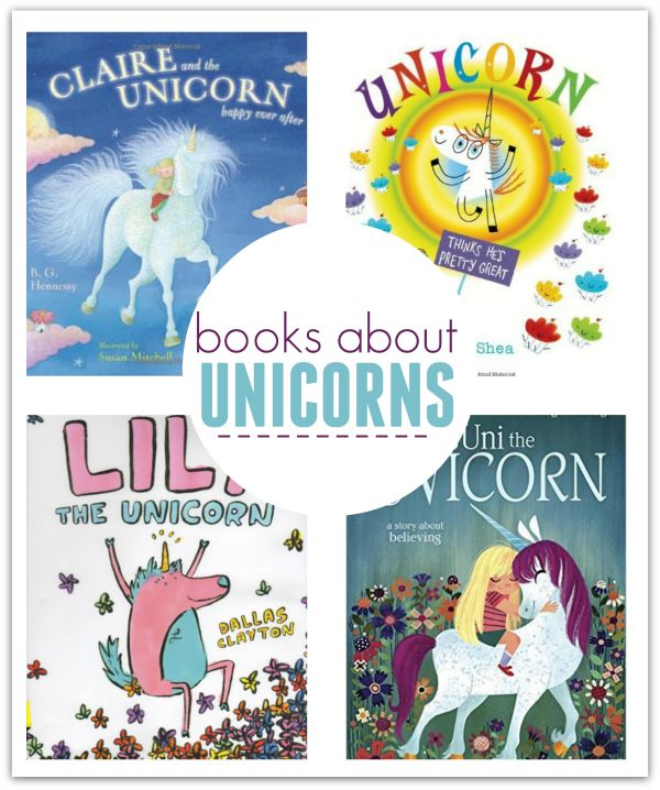 Books About Unicorns for kids