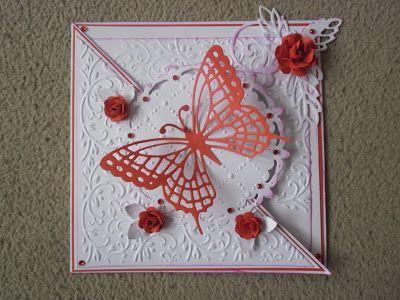 Přání na přání: Skladané přání s motýlkem