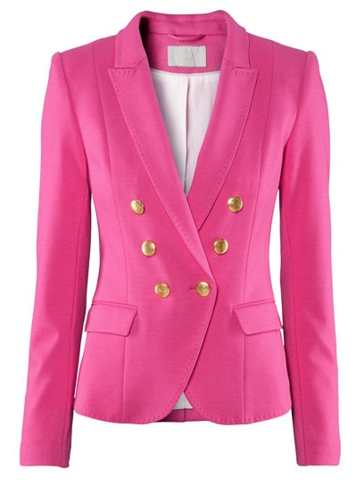 Red jacket? Phsst. How about a pink one!?!
