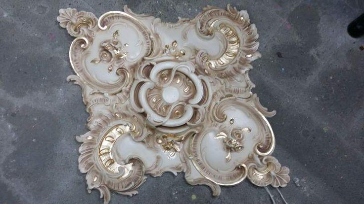 Stucco decorato R 906 A.S.F. gold oro foglia 6