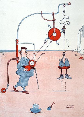 W. Heath Robinson- great illustration