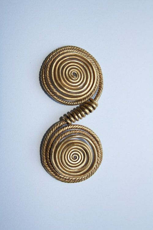Ornament 1600-1200 BCE, Middle Bronze Age, Hungary (Source: The British Museum)