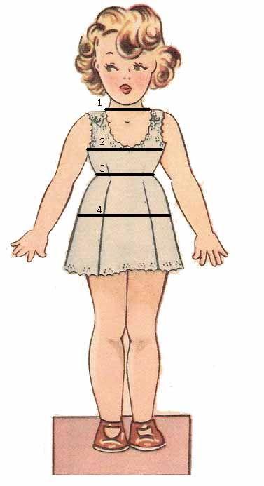 Para trazar el patrón infantil necesitaremos tomar casi las mismas medidas que a un adulto. Antes de empezar a trazar el patrón añadiremos entre 4 a 6 cm.a las medidas de torax, cintura y cadera p…