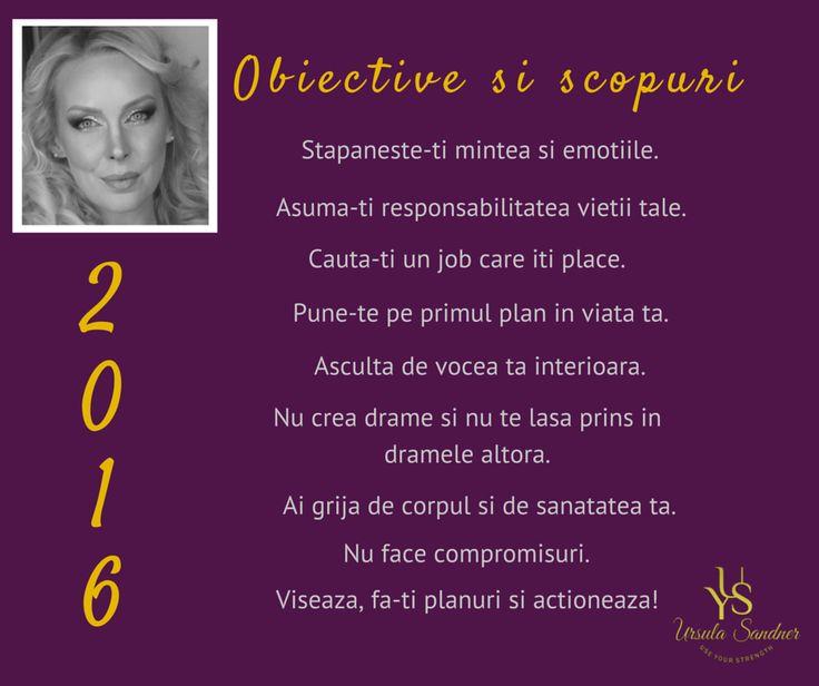 Obiective 2016