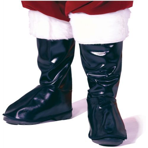 9c8a04ccafc Shoes and Footwear 155347  Santa Boot Toppers Adult Mens Claus Christmas Costume  Shoe Covers Tops