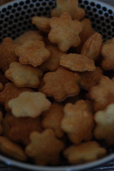 Hundekjeks med kylling og ost